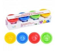 Набор для лепки Genio Kids Тесто-пластилин светящееся в темноте TA1021