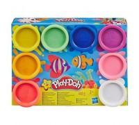 Набор теста Play Doh Hasbro Радуга 8 цветов E5044/Е5062