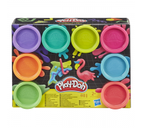 Набор теста Play Doh Hasbro Неон 8 цветов E5044/Е5063