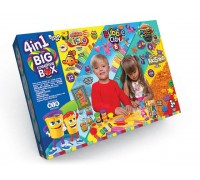 Набор теста для лепки 4 in 1 Big Creative BOX Danko Toys BCRB-01-01