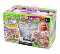 Детская косметичка раскраска Совы Danko Toys COC-01-05