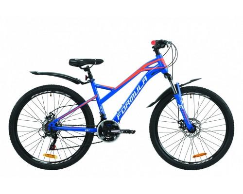 """Велосипед 26"""" Formula DRIFT 2020 (сине-оранжевый с белым (м))"""