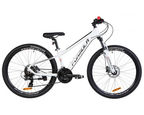 """Велосипед 26"""" Formula F-1 HDD 2020 (бело-черный с красным)"""