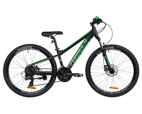 """Велосипед 26"""" Formula F-1 HDD 2020 (черно-зеленый (м))"""