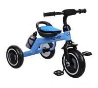 Велосипед трехколесный Turbotrike M 3648-M-1 со светящимися колесами голубой