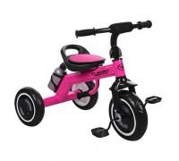 Велосипед трехколесный Turbotrike M 3648-M-1 со светящимися колесами малиновый