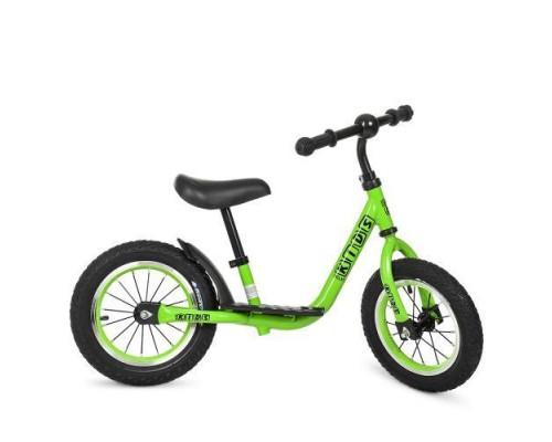 Беговел Profi Kids M4067A-2 с подножкой зеленый