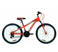 "Велосипед 24"" Discovery RIDER 2020 (оранжево-синий)"