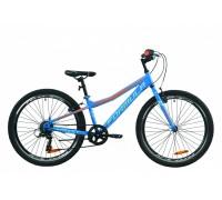 """Велосипед 24"""" Formula FOREST 2020 (сине-оранжевый )"""
