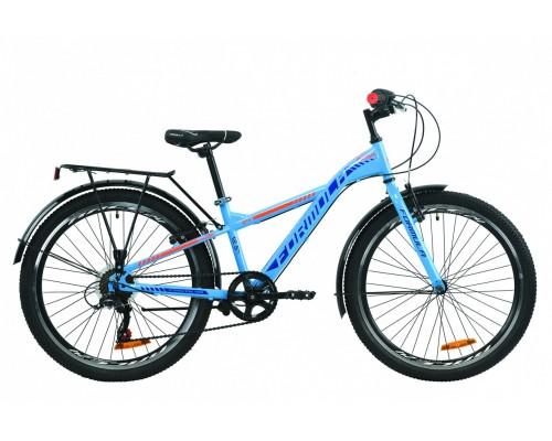 """Велосипед 24"""" Formula MASK 2020 (сине-оранжевый )"""