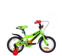 """Велосипед Velotrade 14"""" Formula RACE 2020 (зелено-черный) OPS-FRK-14-010"""