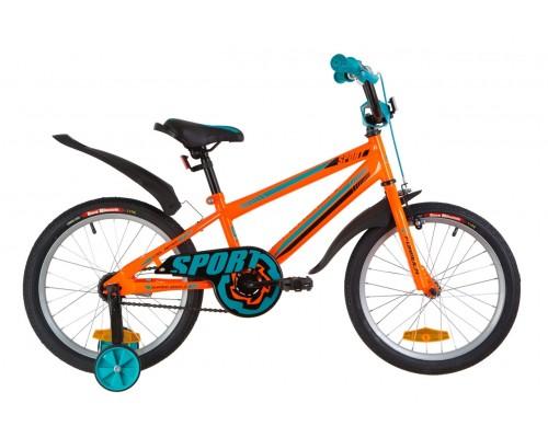 """Велосипед Velotrade 18"""" Formula SPORT 2020 (оранжево-синий) OPS-FRK-18-060"""