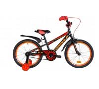 """Велосипед Velotrade 18"""" Formula SPORT 2020 рама-9,5"""" St 2020 черно-красный с оранжевым"""