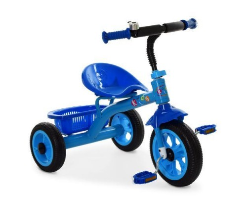 Велосипед трехколесный Profi Kids M3252-B синий