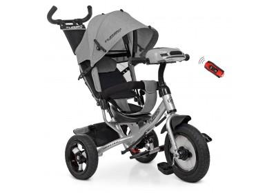 Велосипед детский трехколесный Turbotrike M3115HA-19L серый