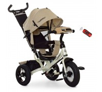 Велосипед детский трехколесный Turbotrike M3115HA-7L бежевый