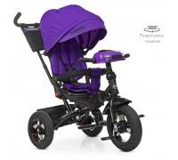 Велосипед детский трехколесный Turbotrike с поворотным сидением M5448HA-8 фиолетовый