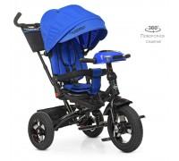 Велосипед детский трехколесный Turbotrike с поворотным сидением M5448HA-10 синий
