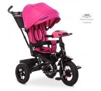 Велосипед детский трехколесный Turbotrike с поворотным сидением М5448HA- розовый