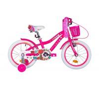 """Велосипед AL 16"""" Formula CREAM рама-9"""" малиновый с крылом St, с корзиной Pl 2021"""