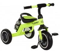 Велосипед трехколесный Turbotrike M 3648-M-2 со светящимися колесами салатовый