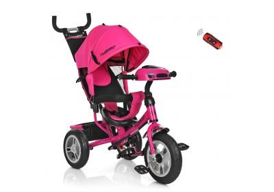 Велосипед детский трехколесный Turbotrike M3115HA-6HA розовый